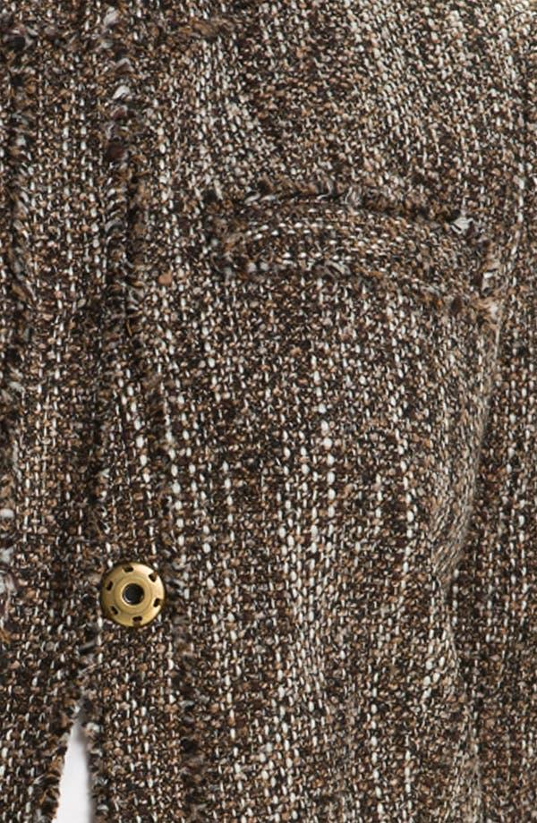 Alternate Image 3  - MICHAEL Michael Kors 'Westport' Tweed Jacket (Plus)