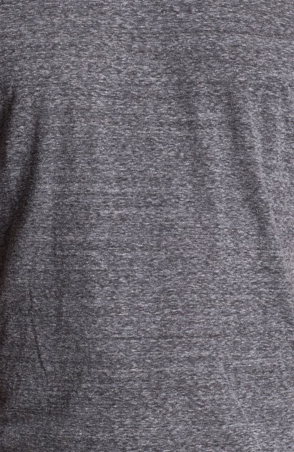 Alternate Image 3  - Daniel Buchler Heathered Cotton Blend V-Neck T-Shirt
