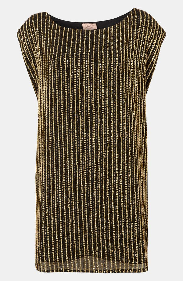 Main Image - Topshop Embellished Shift Dress