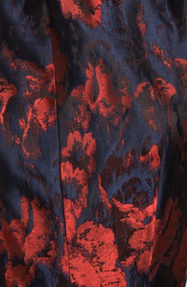 Alternate Image 3  - Taylor Dresses Brocade Fit & Flare Dress
