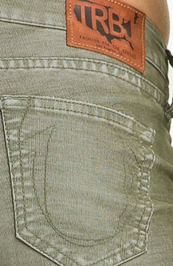 Alternate Image 3  - True Religion Brand Jeans 'Shannon' Skinny Corduroy Pants