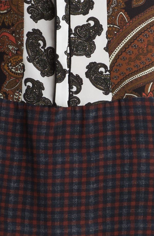 Alternate Image 3  - A.L.C. 'Whitney' Print Silk Tunic Dress