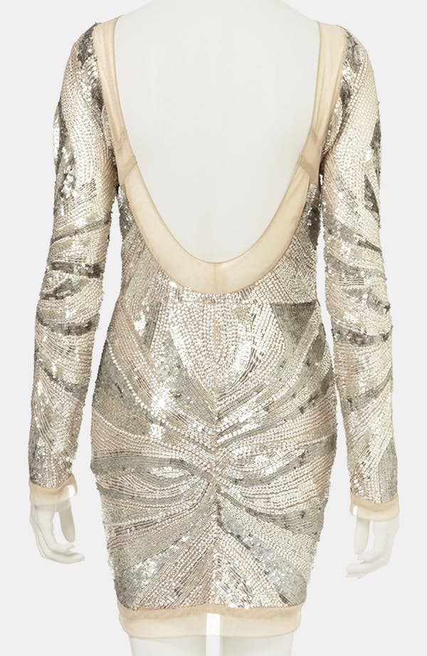 Alternate Image 2  - Topshop Embellished Body-Con Dress