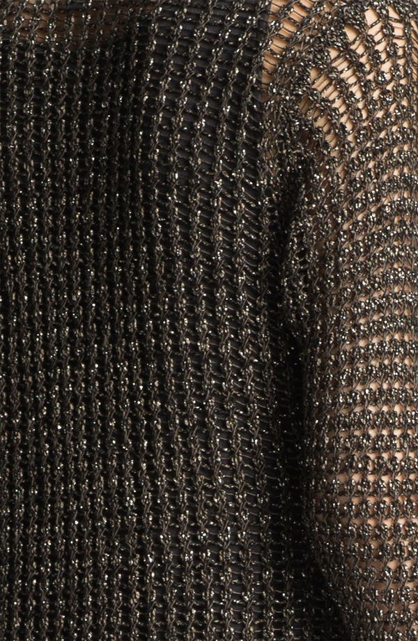 Alternate Image 3  - Eileen Fisher Sparkle Mesh Cardigan