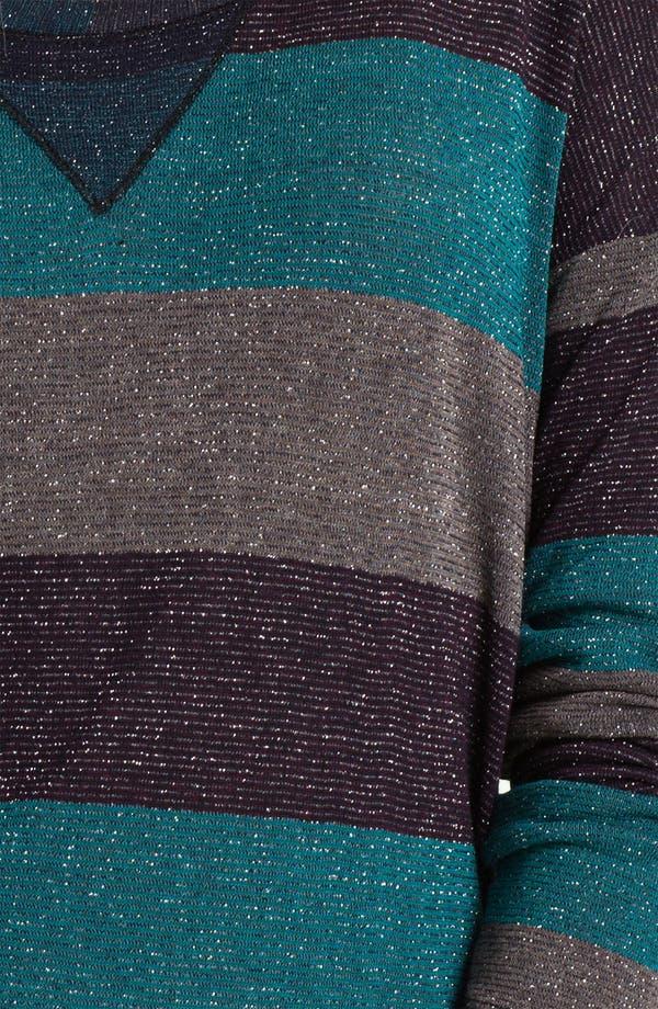 Alternate Image 3  - Splendid Metallic Stripe Top