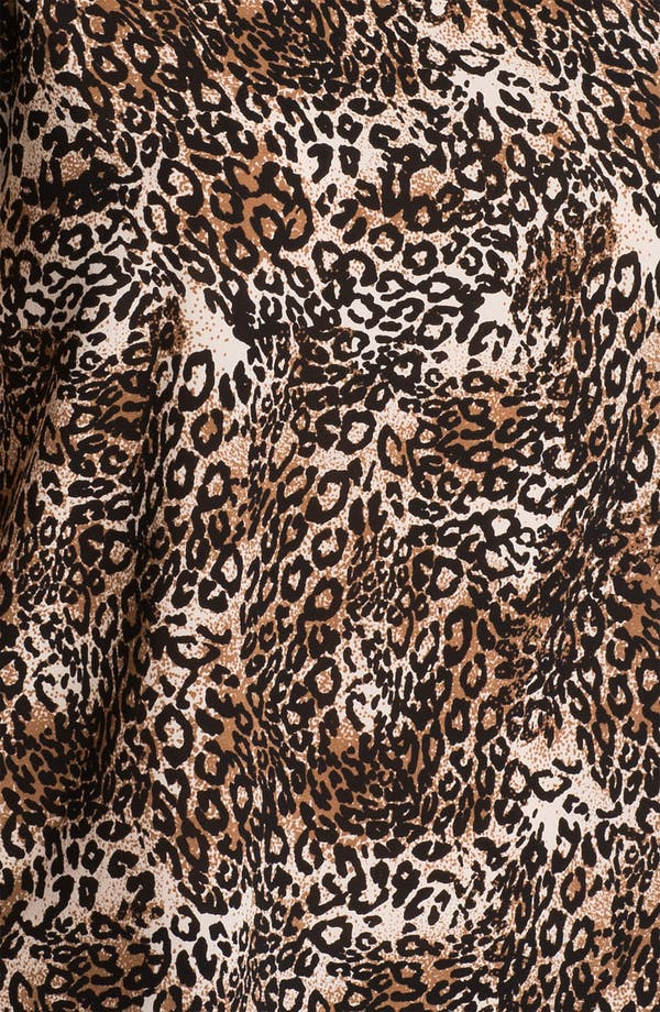 Alternate Image 3  - Alice + Olivia 'Kinsley' Cheetah Print Top