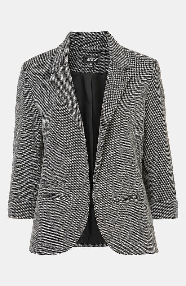 Main Image - Topshop 'Monty' Textured Blazer