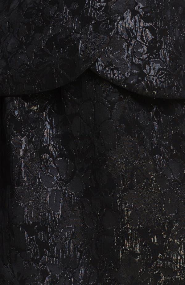 Alternate Image 3  - Maggy London Sleeveless Illusion Yoke Peplum Dress