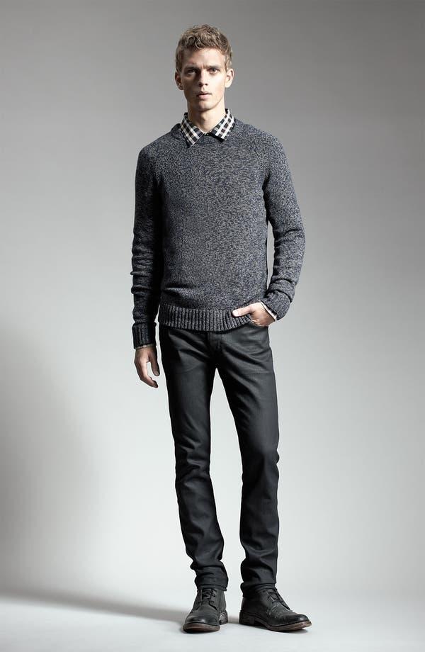 Alternate Image 6  - Hudson Jeans 'Dandy' Slouchy Straight Leg Jeans (Tar)