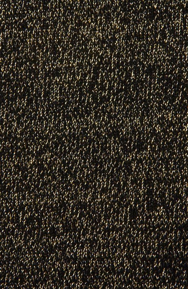 Alternate Image 3  - Topshop Metallic Midi Skirt