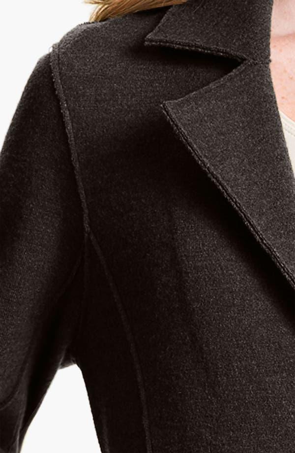 Alternate Image 3  - Eileen Fisher Notch Collar Long Jacket