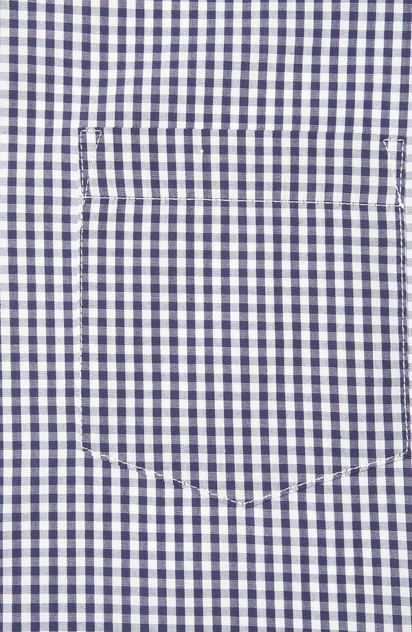 Alternate Image 3  - Topman Extra Trim Gingham Check Shirt