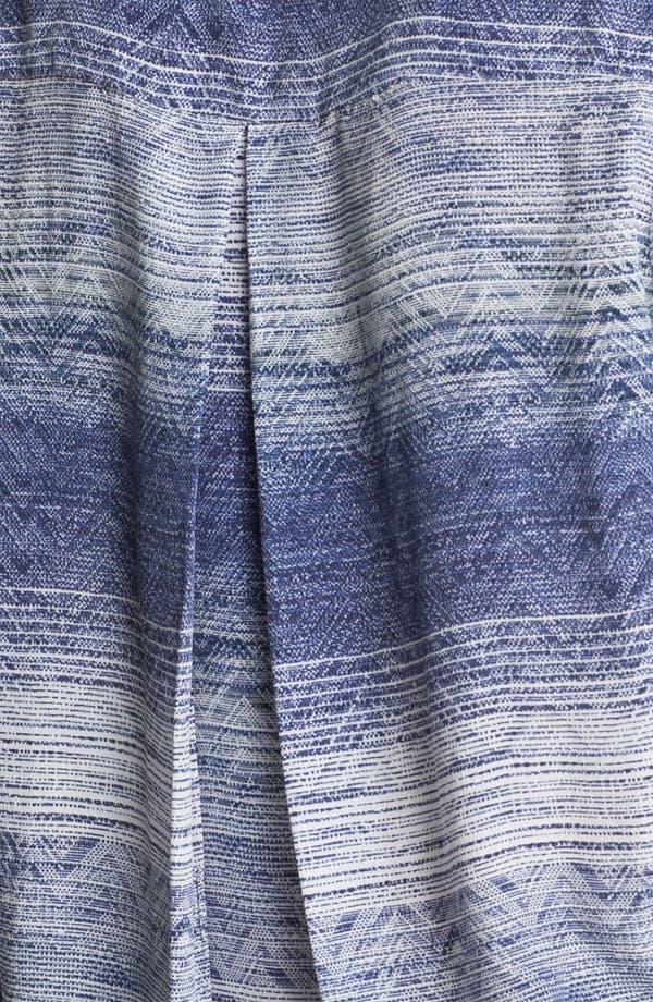 Alternate Image 3  - L'AGENCE Print Silk Shirt