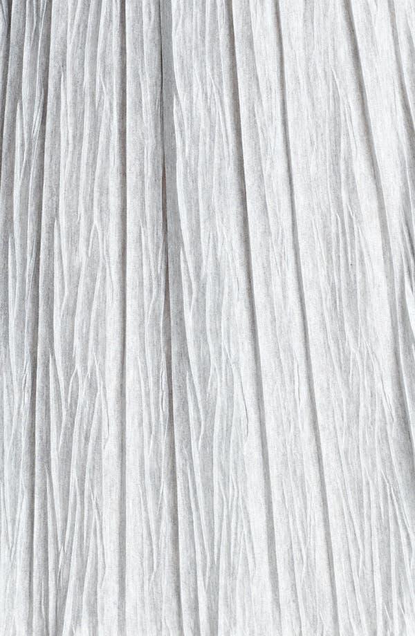 Alternate Image 3  - Lida Baday Plissé Stretch Jersey Skirt