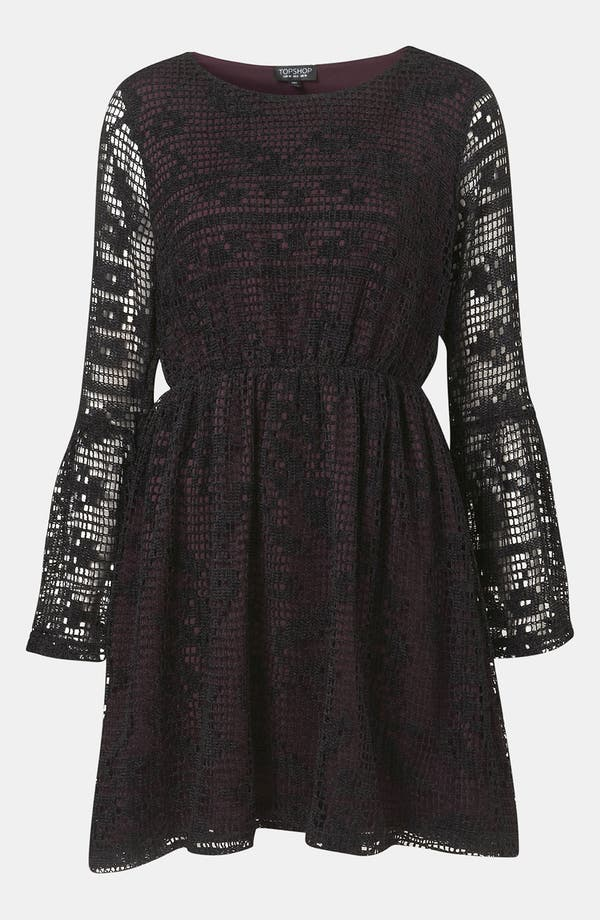 Alternate Image 1 Selected - Topshop Doily Lace Dress