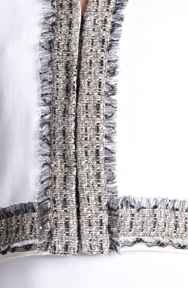Alternate Image 3  - Blumarine Tweed Trim Jacket