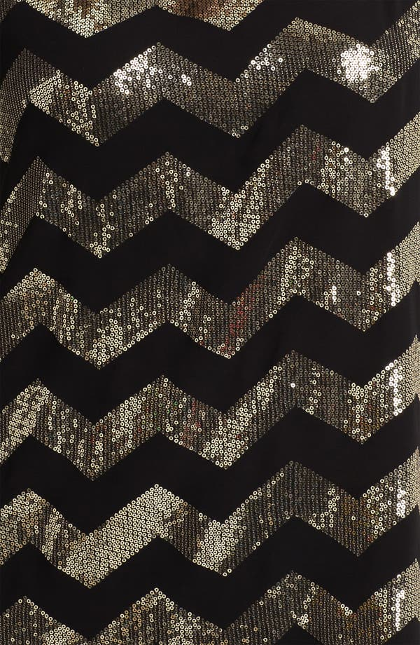 Alternate Image 3  - Vince Camuto Sequin Chevron Blouse (Plus)