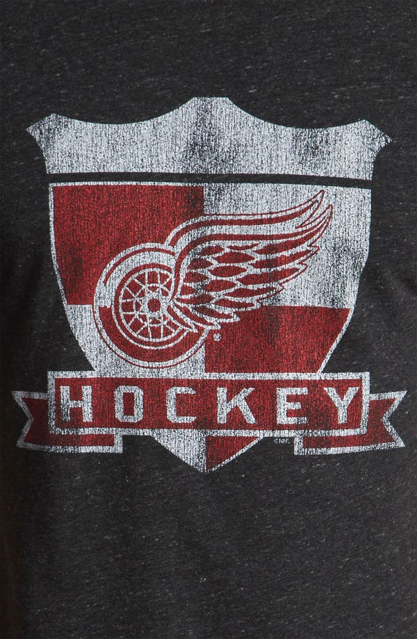 Alternate Image 3  - The Original Retro Brand 'Detroit Red Wings' T-Shirt