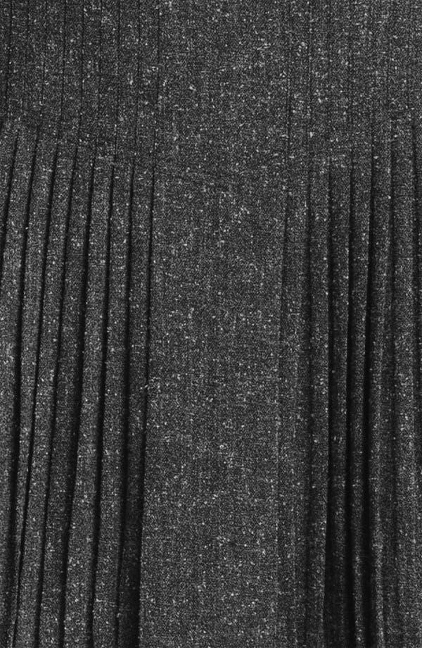 Alternate Image 3  - Halogen® Pleat Front Tweed Skirt
