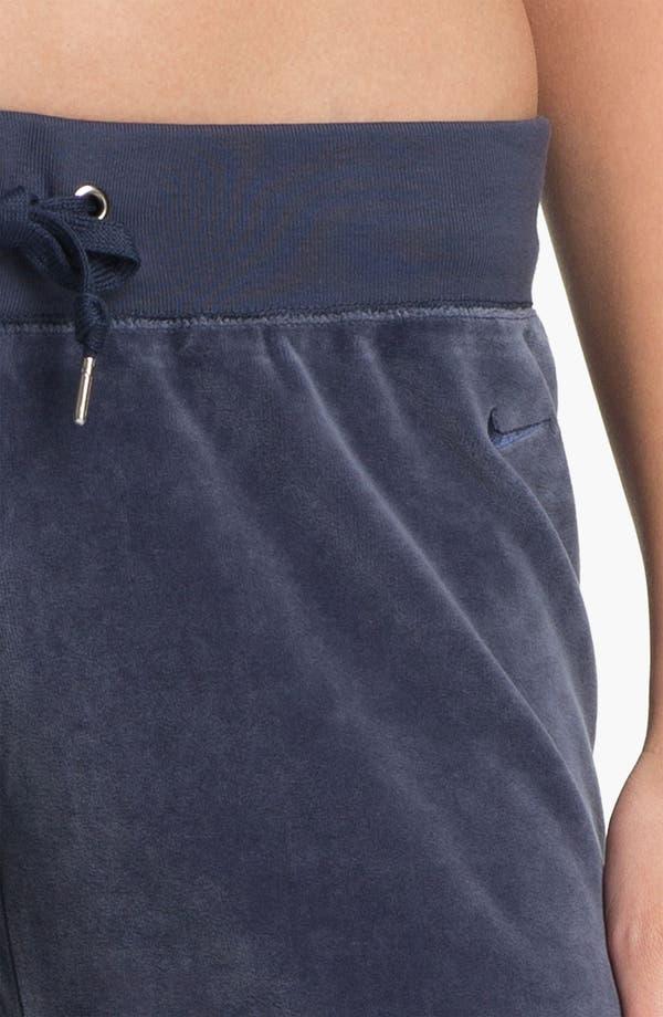 Alternate Image 3  - Nike 'Oh' Velour Pants