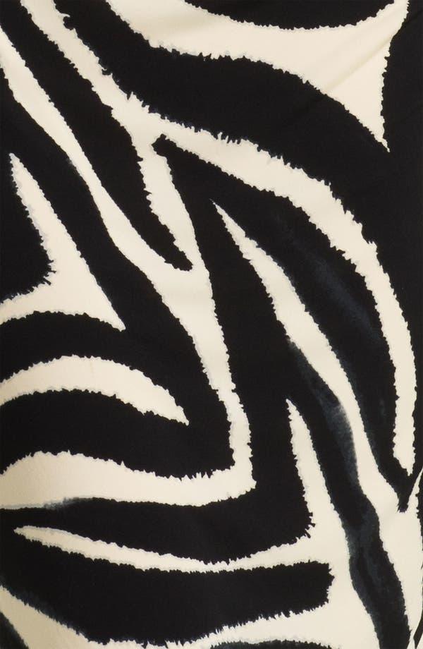 Alternate Image 3  - Eliza J Three Quarter Sleeve Side Drape Jersey Dress