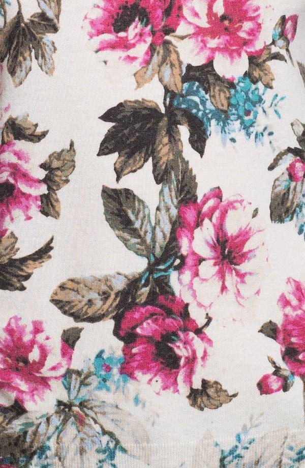 Alternate Image 3  - Joie 'Shelsea' Floral Print Sweater