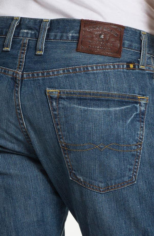 Alternate Image 4  - Lucky Brand '121 Heritage' Slim Straight Leg Jeans (Ol' Vicksburg)