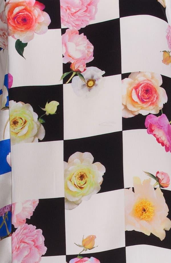 Alternate Image 3  - MSGM Mixed Print Silk Dress