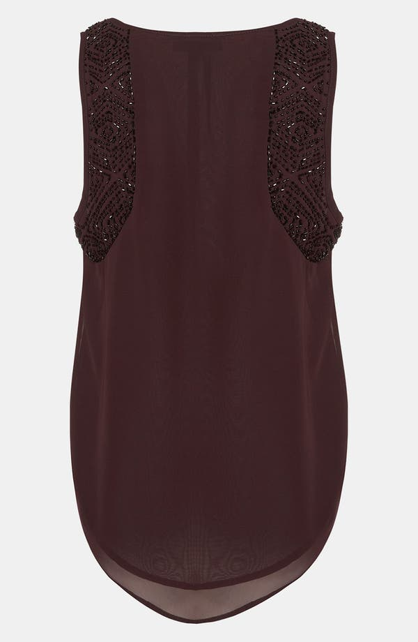 Alternate Image 2  - Topshop Embellished Shoulder Tank