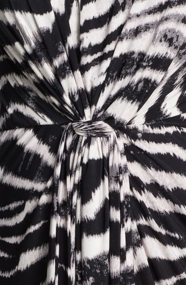 Alternate Image 3  - Tbags Los Angeles Tie Waist Strapless Maxi Dress (Plus)