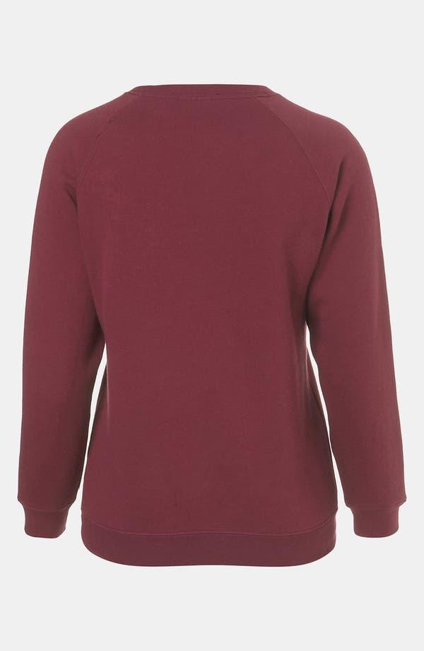 Alternate Image 2  - Topshop 'Geek' Sweatshirt (Petite)