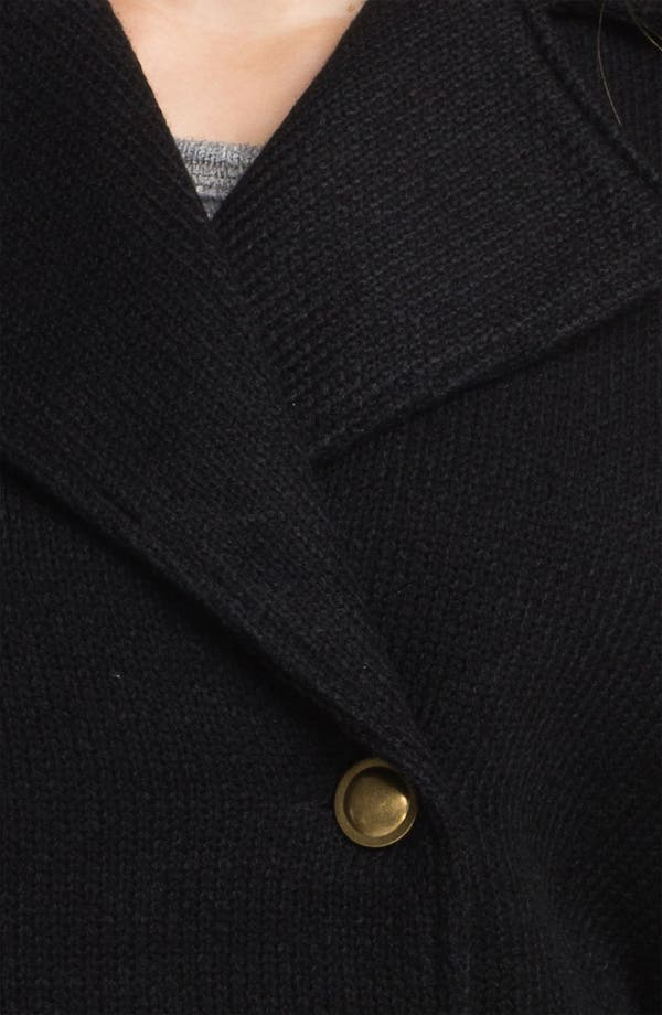 Alternate Image 3  - Obey 'Overton Street' Knit Peacoat