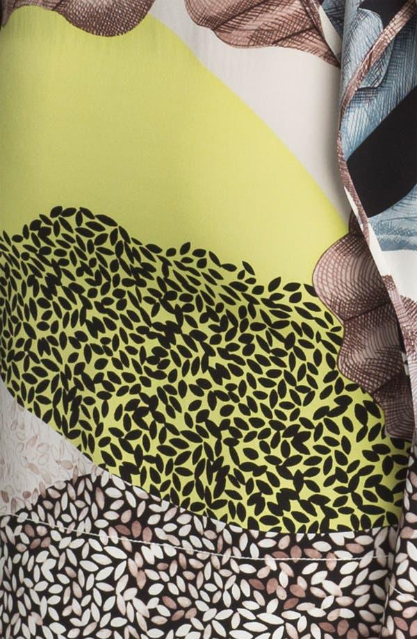 Alternate Image 3  - Diane von Furstenberg 'Diane Hanky' Print Silk Dress
