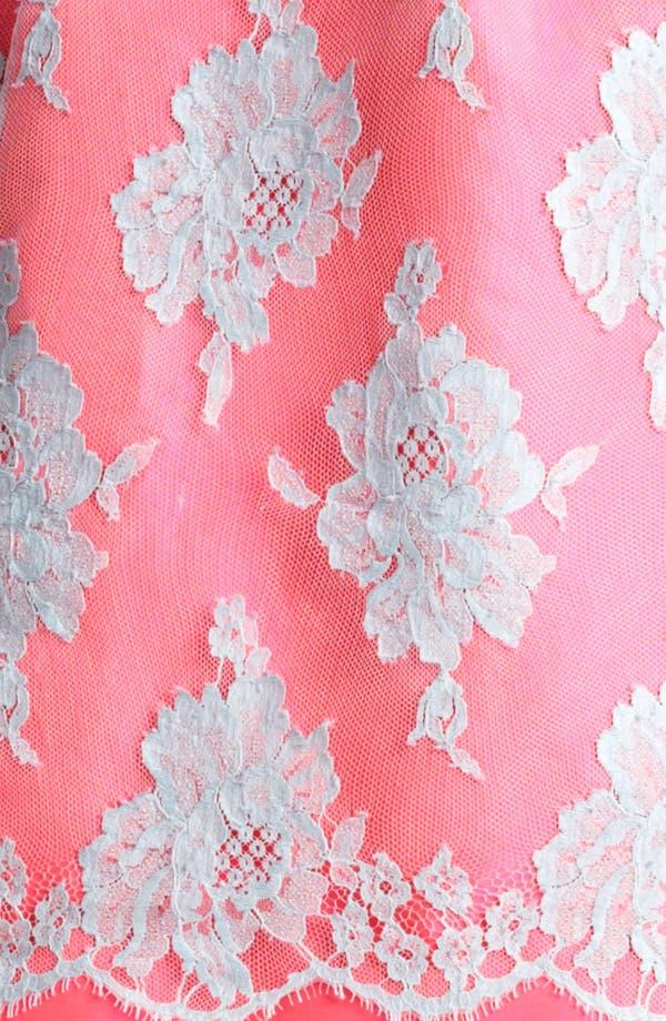 Alternate Image 3  - Erdem Full Skirt Mikado Silk & Lace Dress