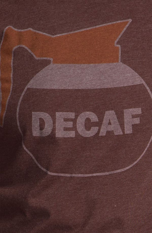 Alternate Image 3  - Headline Shirts 'Decaf' Graphic T-Shirt