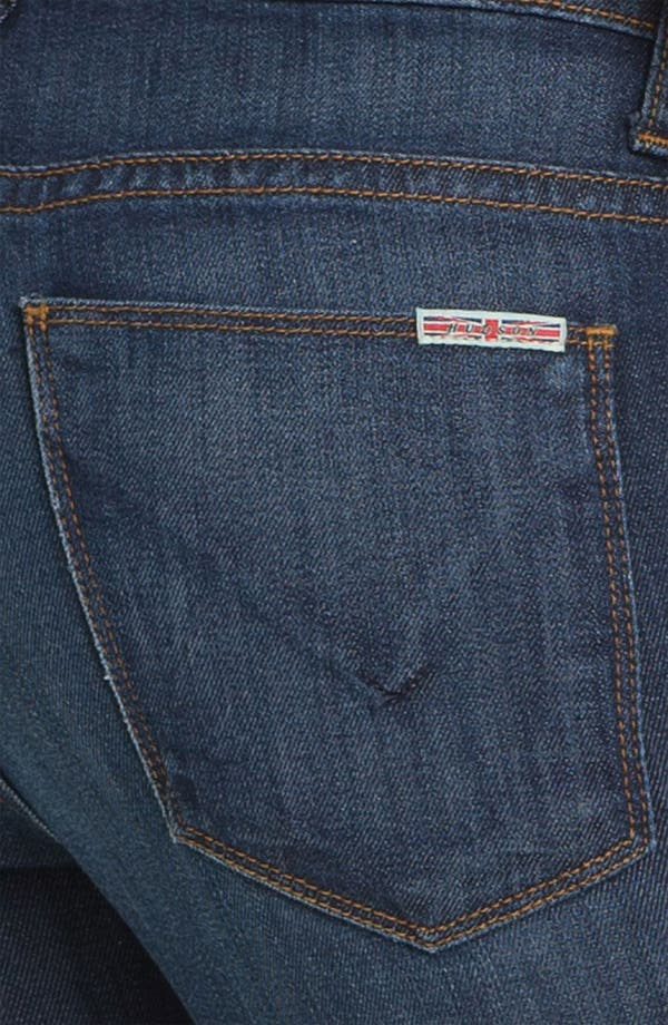 Alternate Image 3  - Hudson Jeans 'Tilda' Straight Leg Stretch Jeans (Bennett)