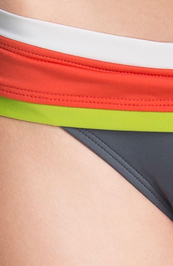 Alternate Image 3  - BCA Colorblock Bikini Bottoms