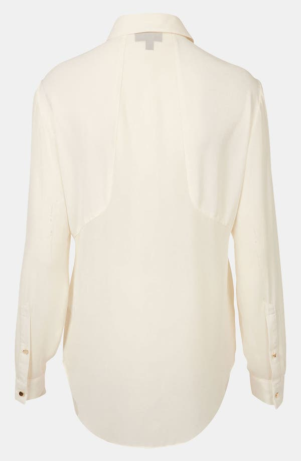 Alternate Image 2  - Topshop Contrast Panel Shirt