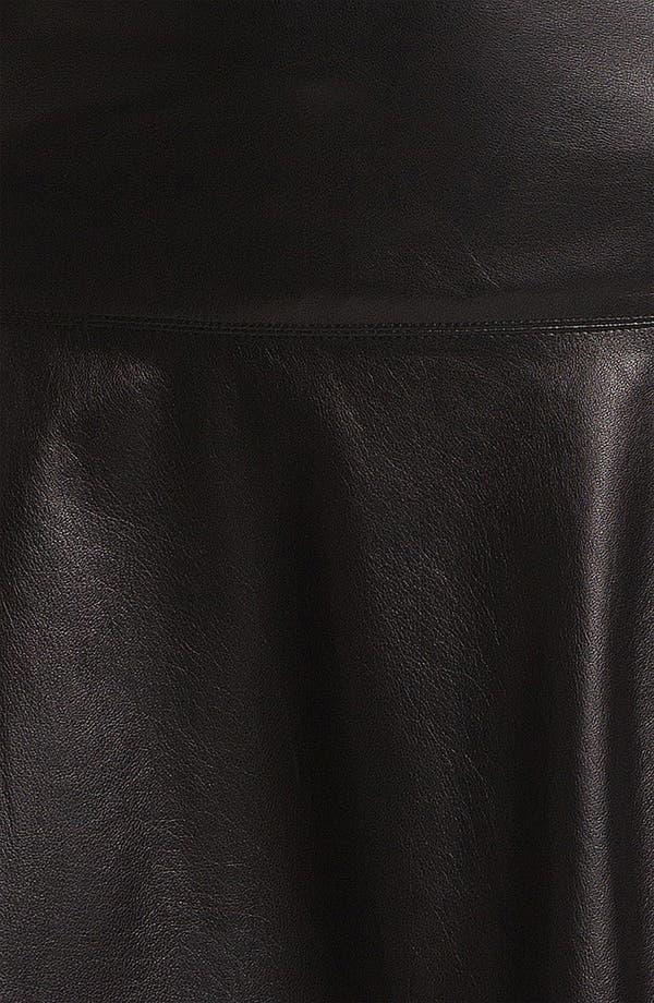 Alternate Image 3  - Vince Leather Skirt