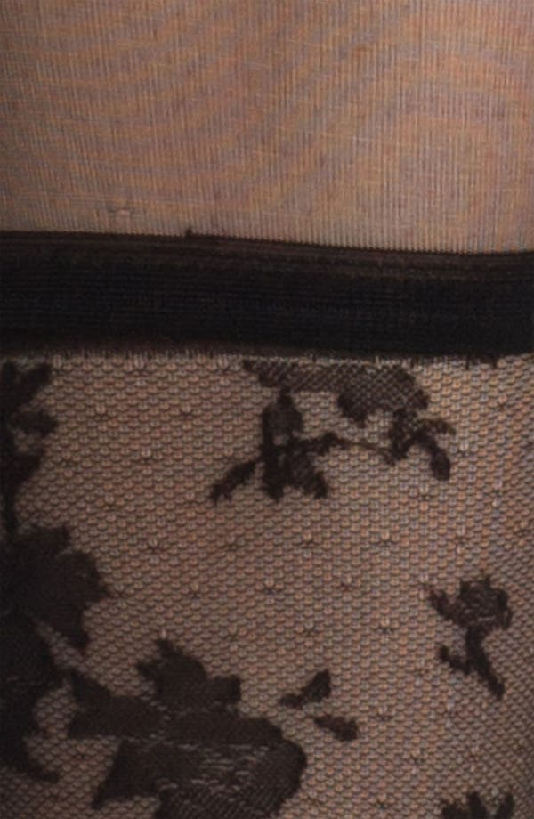 Alternate Image 2  - Nordstrom 'Layer on the Lace' Tights
