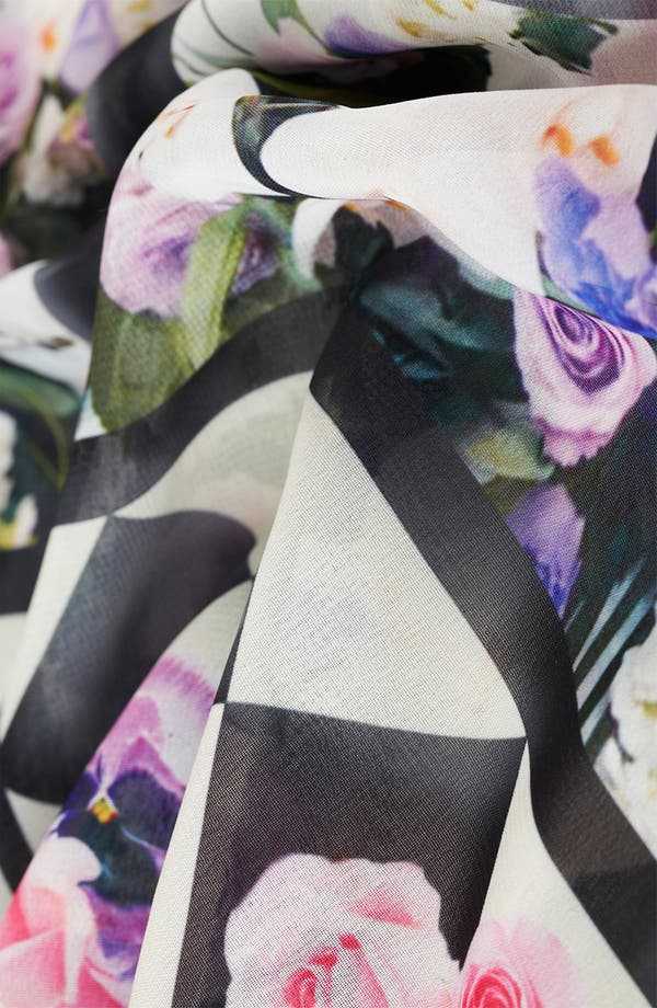 Alternate Image 3  - Topshop 'Floral Chalkboard' Print Camisole