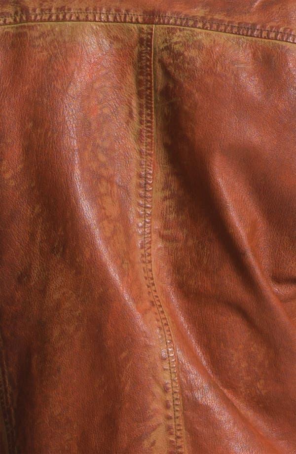 Alternate Image 3  - Scotch & Soda Weathered Leather Moto Jacket