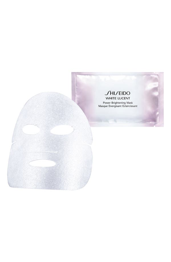 Alternate Image 1 Selected - Shiseido 'White Lucent' Power Brightening Mask