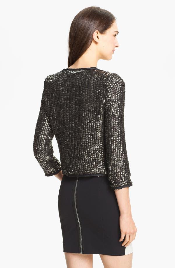 Alternate Image 2  - Milly Embellished Silk Jacket