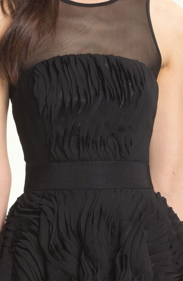 Alternate Image 3  - Milly Illusion Yoke Fit & Flare Dress