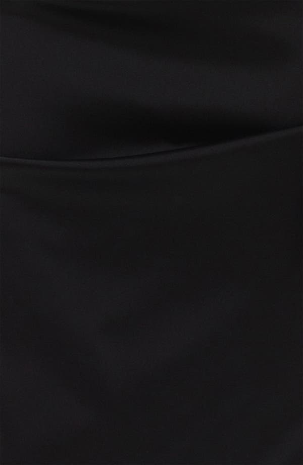 Alternate Image 3  - Xscape Lace Yoke Satin Sheath Dress