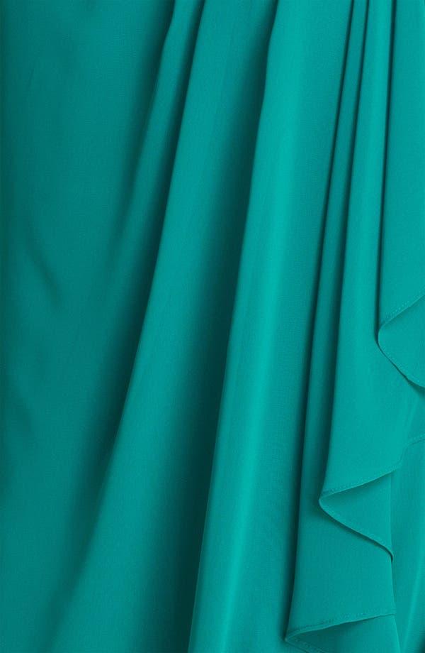 Alternate Image 3  - JS Boutique Embellished One Shoulder Chiffon Dress