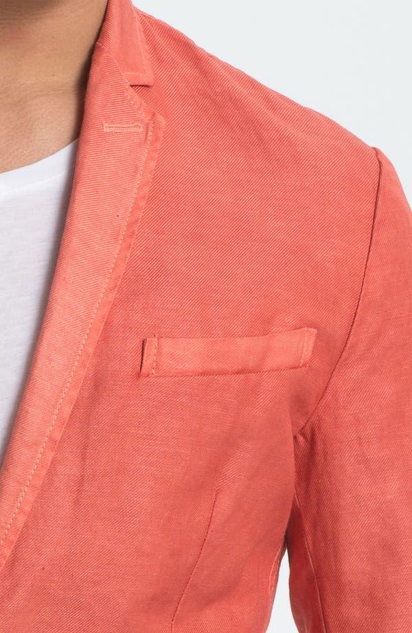 Alternate Image 3  - Just Cavalli Cotton & Linen Blazer