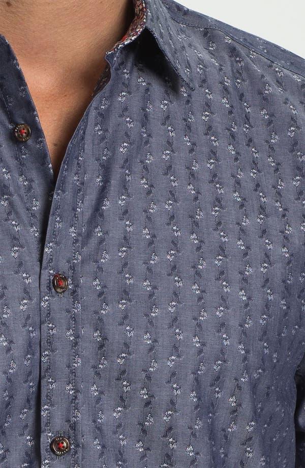 Alternate Image 3  - Ted Baker London 'Brillan' Jacquard Sport Shirt