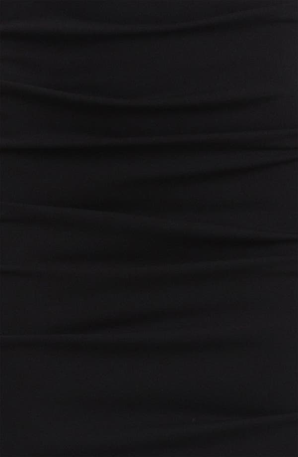 Alternate Image 3  - Nicole Miller Ruched Matte Jersey Gown